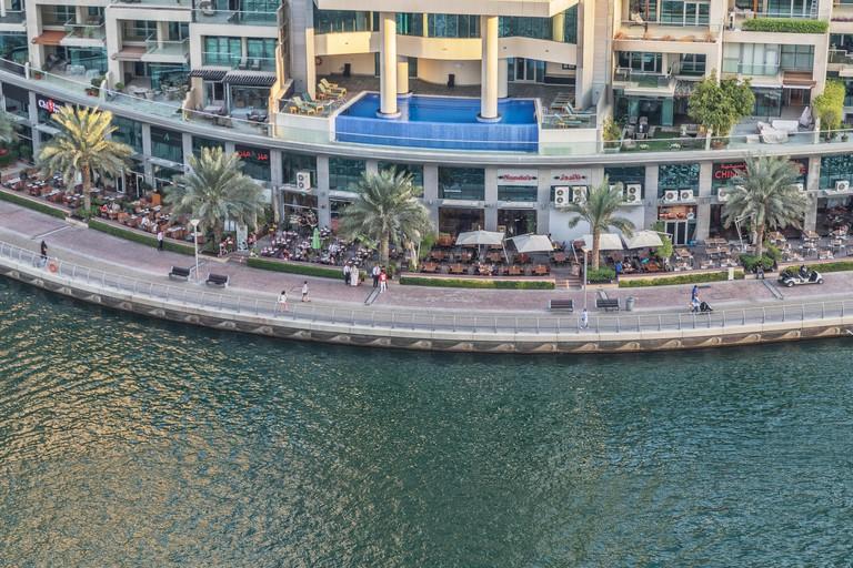 The Dubai Marina Mall