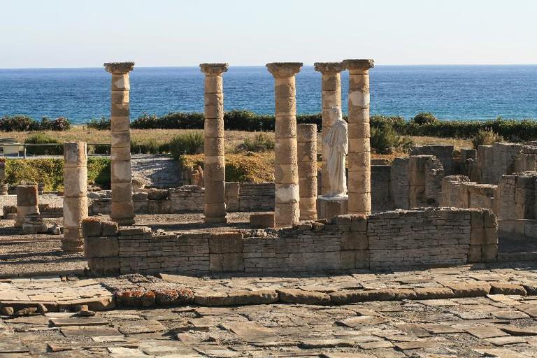 The ruins of Baelo Claudia near Tarifa
