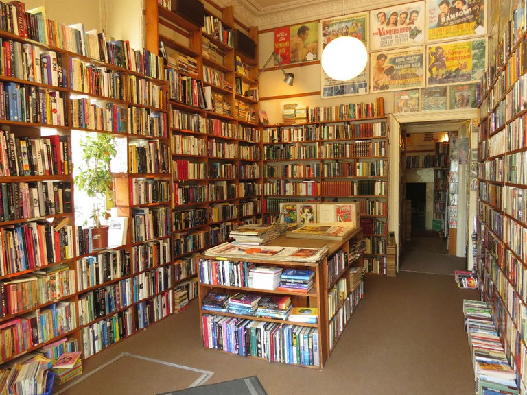 Till's Bookshop in Edinburgh is overflowing with desirable titles