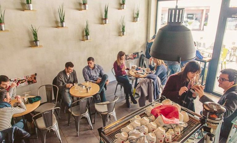 Grab a fine cup of coffee at Zrno in Podgorica, Montenegro