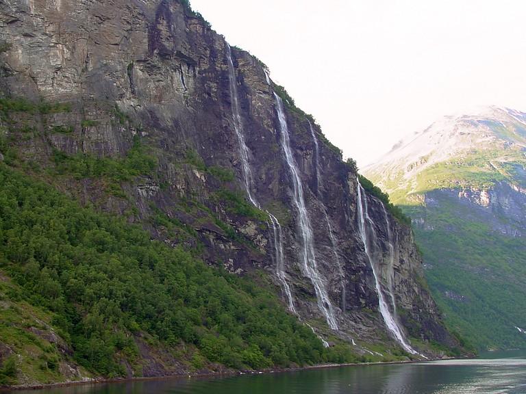 Seven Sisters Waterfalls - Geirangerfjord