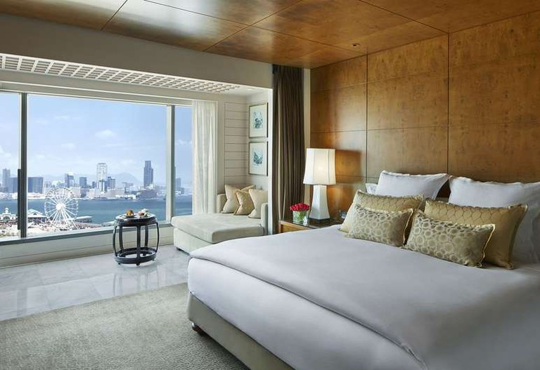 There are 501 suites and rooms at the Mandarin Oriental, Hong Kong