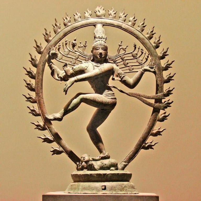 Shiva Natarâdja (Seigneur de la Danse) at the Musée National des Arts Asiatiques-Guimet