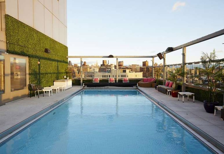 Gansevoort Meatpacking NYC is located on the edge of the West Village