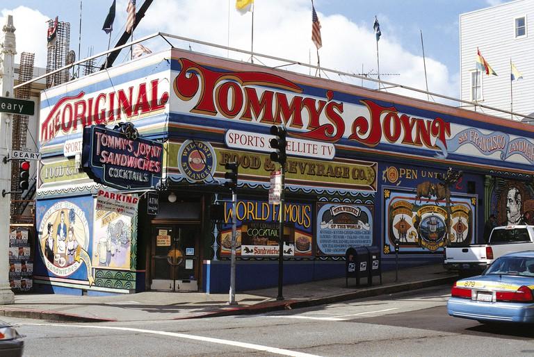 Tommy's Joynt Diner, San Francisco, California, USA.