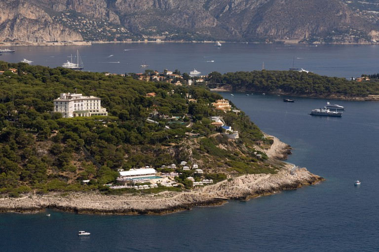 The Grand-Hotel du Cap-Ferrat is a favourite of celebrities and royalty