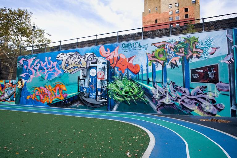 Graffiti Hall of Fame, Harlem, Manhattan, New York City