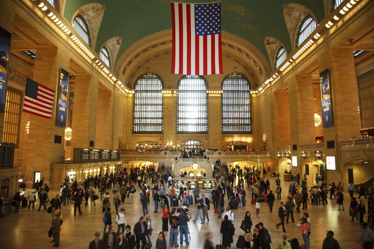 Grand Central Station in New York, New York.