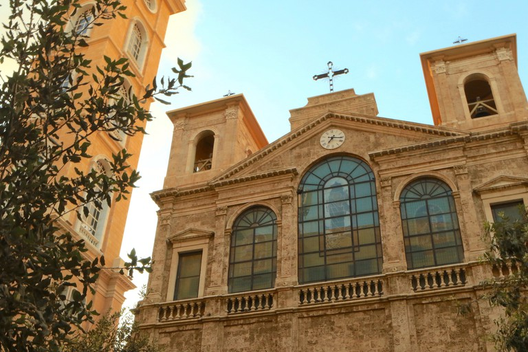 The St George Maronite Cathedral is located in Downtown Beirut