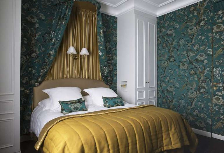 The rooms at Hôtel de Buci are inspired by 18th-century design