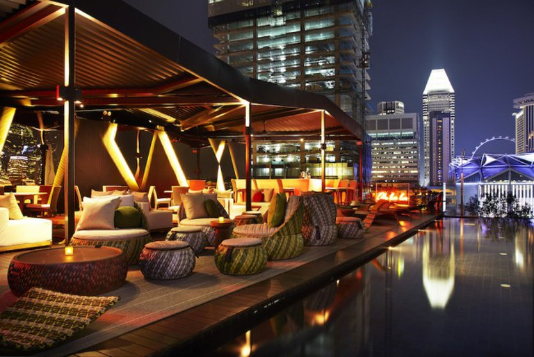 Cloud 9 Rooftop at the Naumi Hotel