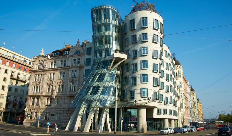 Dancing House, New Town, Prague.