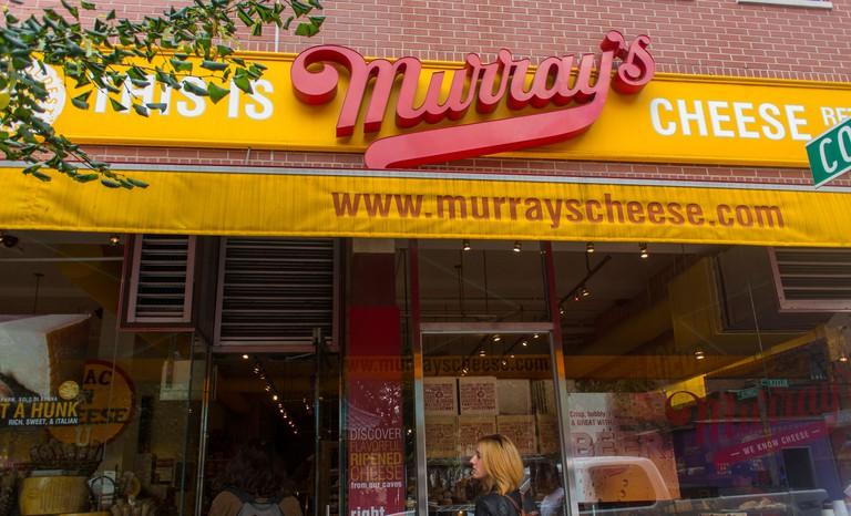 Italian Murray's Cheese Store, Manhattan, New york.