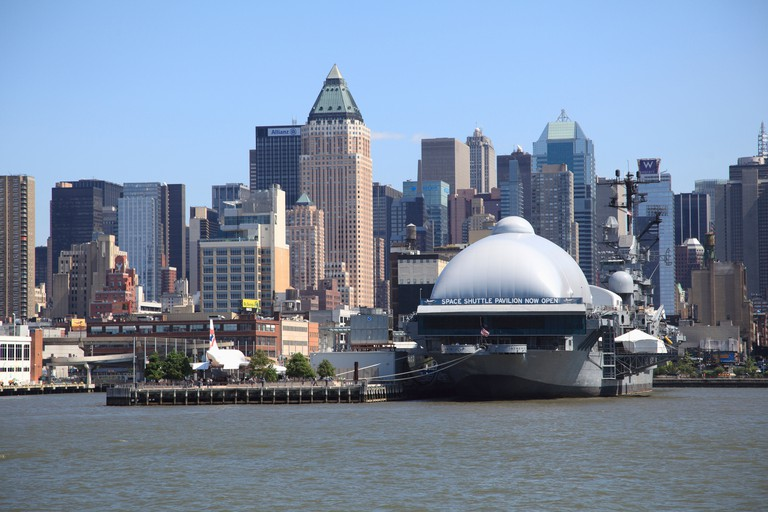 Intrepid Sea Air and Space Museum, Manhattan, New York City, USA