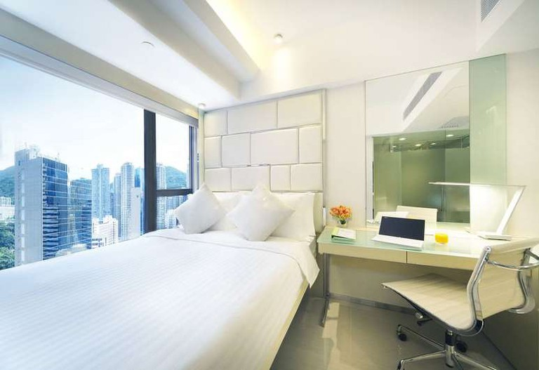 The iclub Sheung Wan Hotel is perfect for tech-savvy travellers