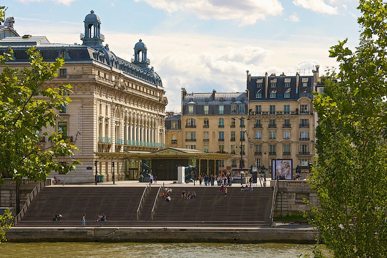 People flock to the Musée d'Orsay to see Impressionist and Post-Impressionist works of art