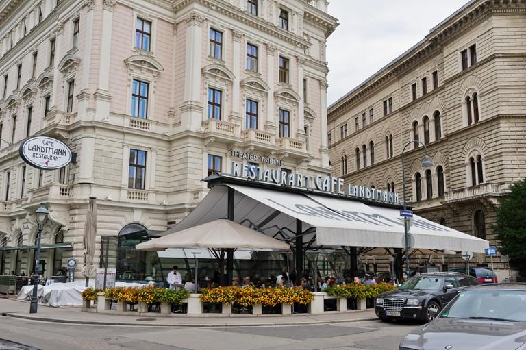 Café Landtmann attracts a diverse crowd