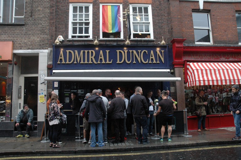 The Admiral Duncan opened in the 19th century