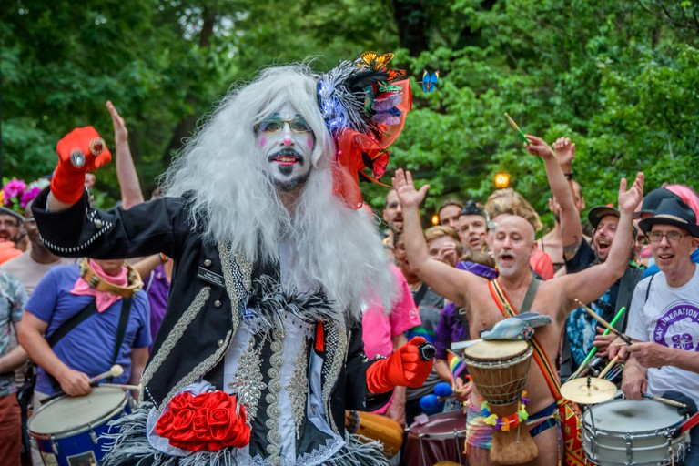 Hundreds Of Drag Queens filled the streets for the New York