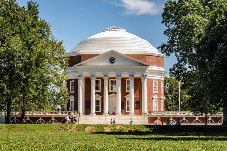 The Rotunda, The Lawn, University of Virginia, Charlottesville, Virginia