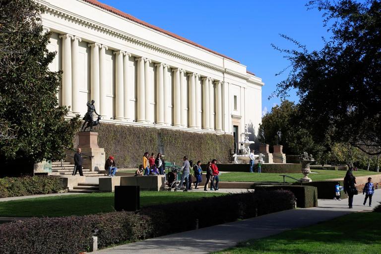 The Huntington Library in Huntington Library art Collection and Botanical Garden.San Marino,California,USA