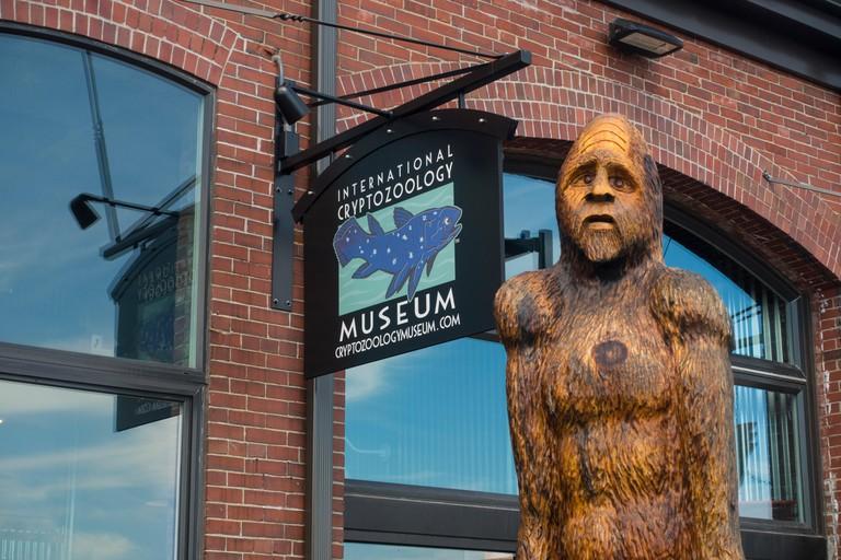 International Cryptozoology Museum Portland Maine