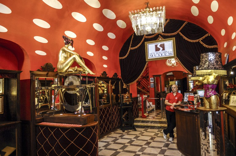 The Sex Machines Museum is not for the faint of heart