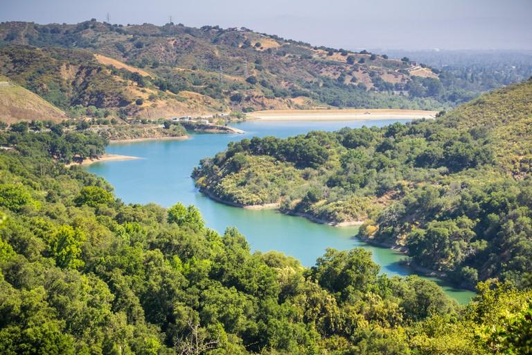 Stevens Creek Reservoir, Santa Clara county, San Francisco bay area, California