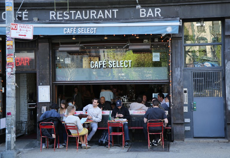 Cafe Select in Soho, New York City.