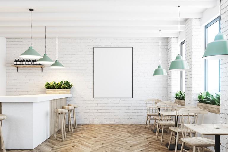 White brick cafe