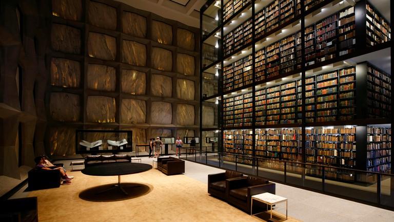 Beinecke Rare Book & Manuscript Library, 121 Wall Street