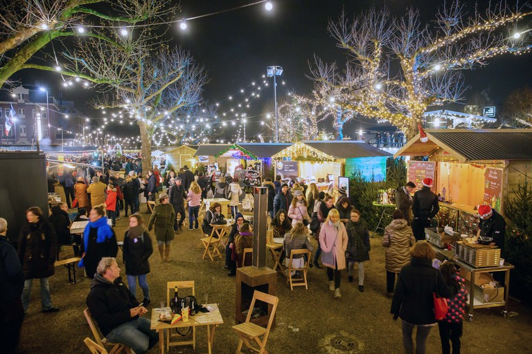 Eat, drink and be merry at Ice* Amsterdam's winter market
