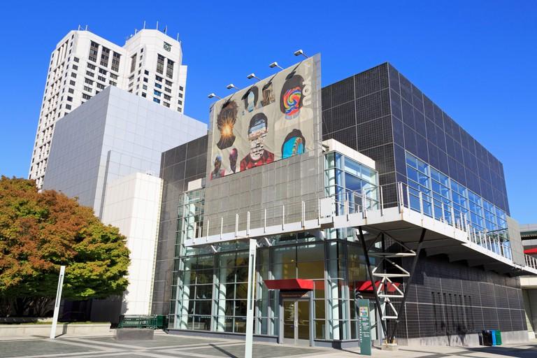 Center for the Arts in Yerba Buena Gardens,San Francisco,California,USA