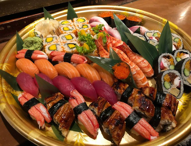 Only the freshest sushi is served at Little Tokyo's Seryna