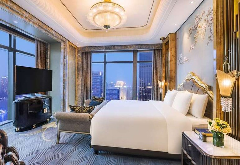 Wanda Reign on the Bund claims to be a 'seven-star' hotel