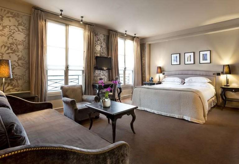 The Pavillon de la Reine has 56 bedrooms and suites