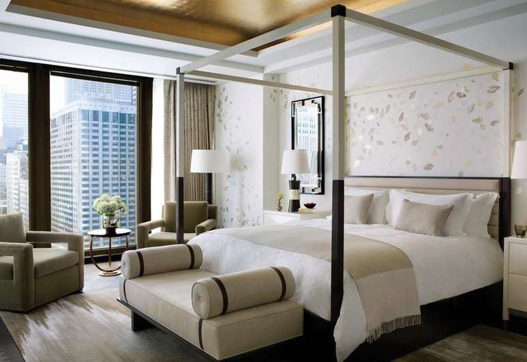 Rooms at The Langham look out over the Chicago River