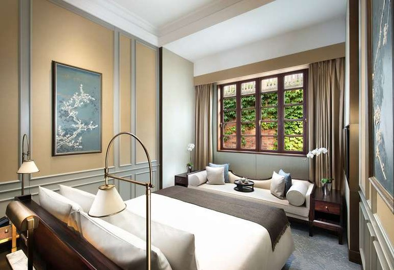 There are 55 suites at Capella Shanghai, Jian Ye Li