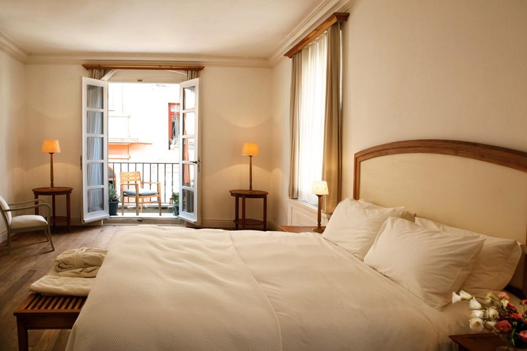 There are 40 rooms at Adahan Istanbul Hotel