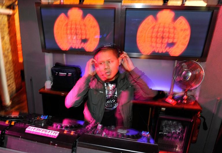 World-class DJs regularly play Ministry of Sound