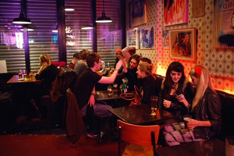 Party in the Dalston Superstore club in Dalston in Hackey, London.