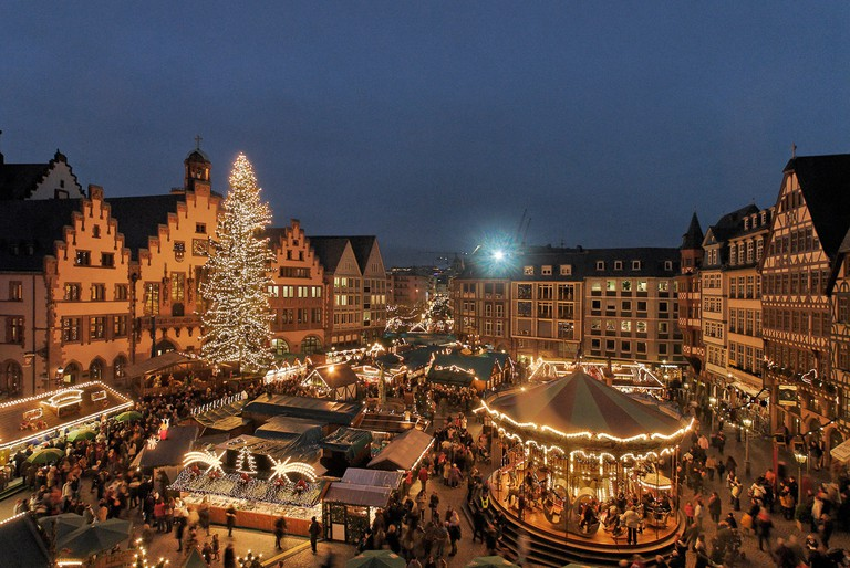 Römerberg is one of Germany's oldest Christmas markets