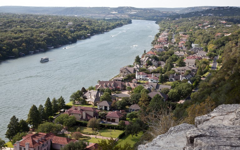 Mount Bonnell is Austin's highest point
