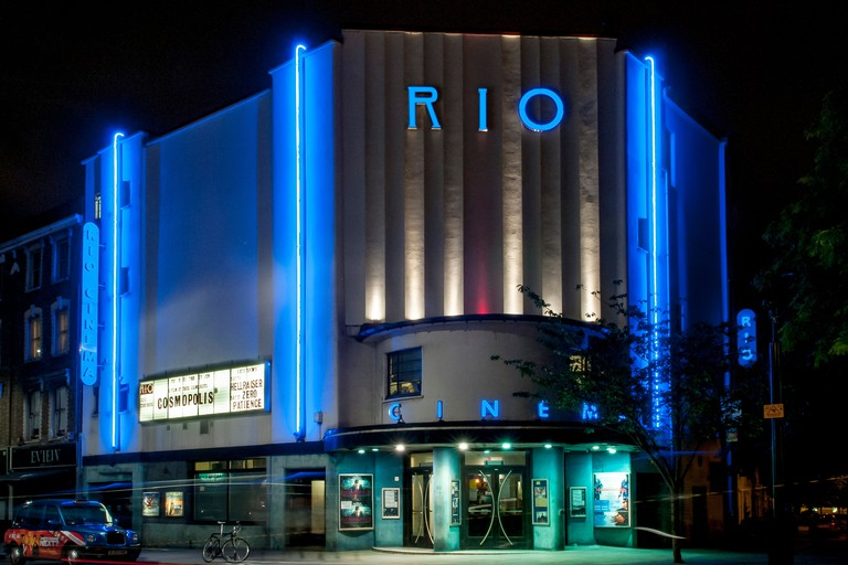 Rio Cinema, London, United Kingdom. Architect: Burrell Foley Fischer LLP + F E Bromige, 1937.