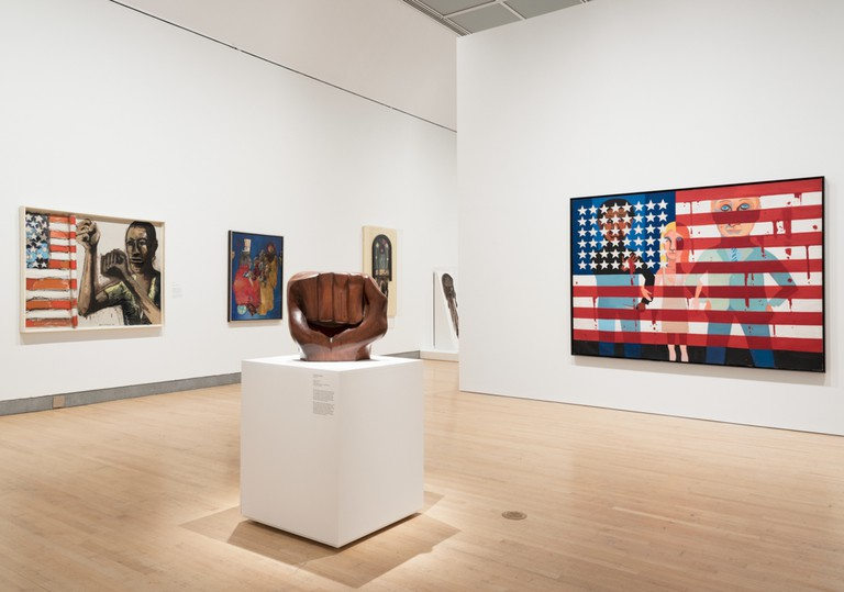 'Soul of a Nation: Art in the Age of Black Power' (2019) was an exhibit at the Brooklyn Museum