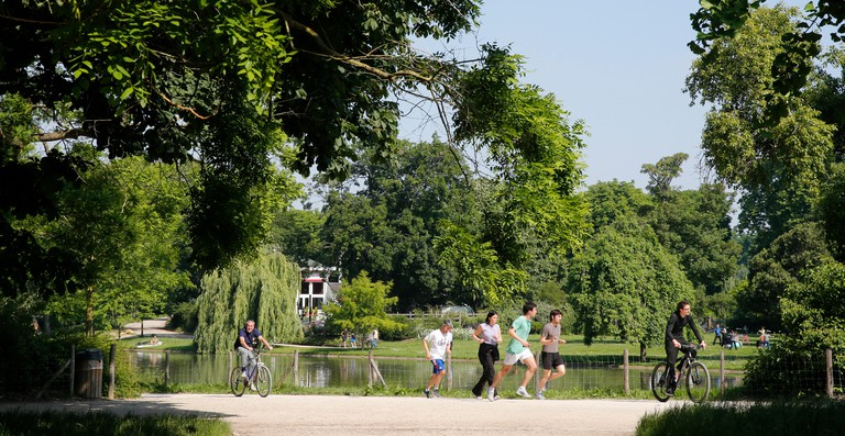 Lake of the Bois de Vincennes