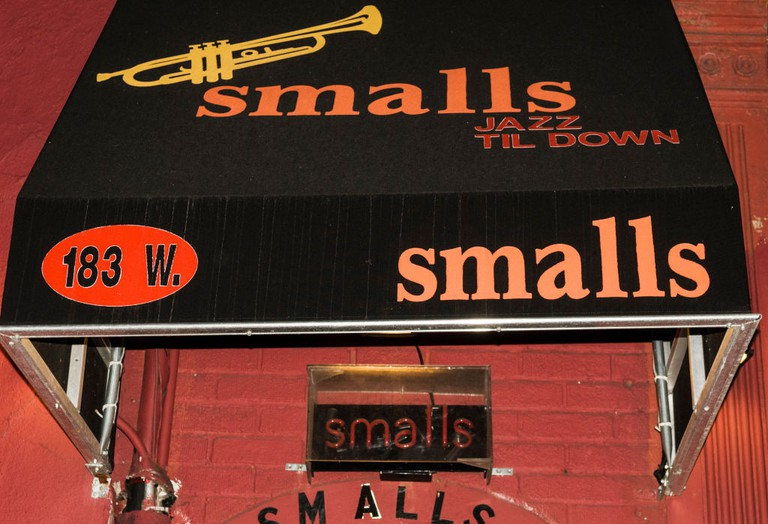 Smalls Jazz Club In Greenwich Village