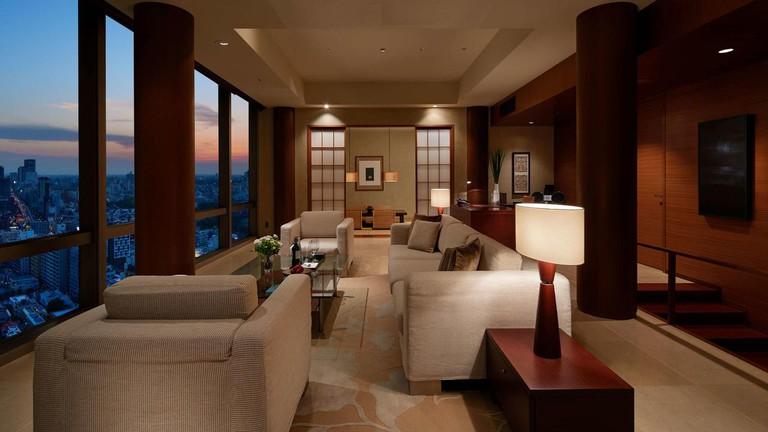 Grand Hyatt Tokyo suite
