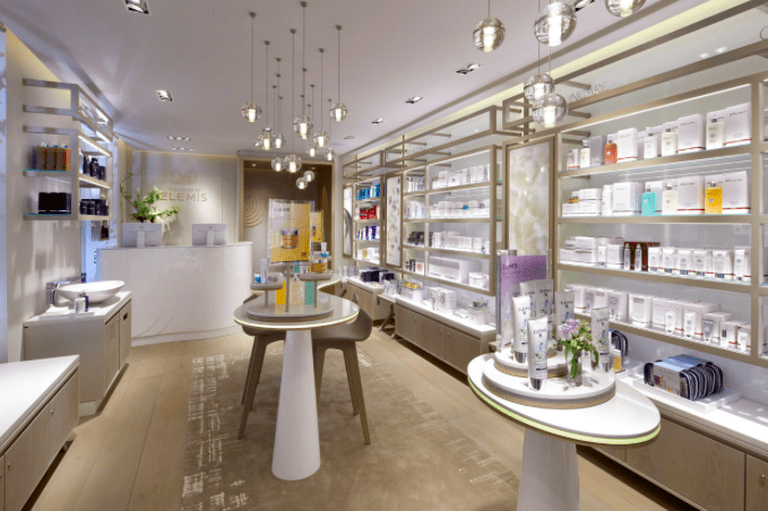 The House of ELEMIS lies in a blissfully quiet spot in Mayfair