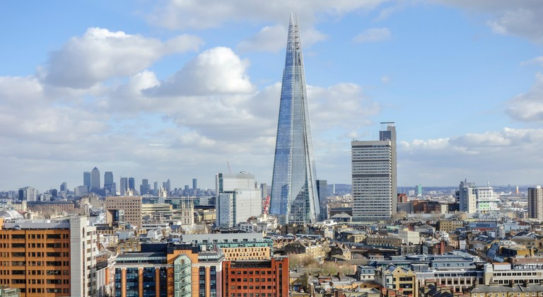 London Skyline with the Shard